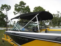 Deck Mounted Bimini - No Straps