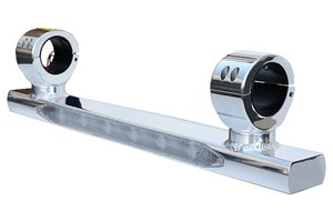Aerial LED Light Bar - Black or Polished