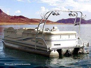 WakeWorks Universal Pontoon Tower