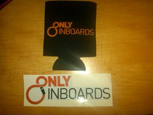 OnlyInboards Cozie and Sticker