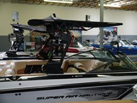 Nautique GS Folding Bimini Top