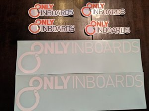 OnlyInboards Vinyl Window Sticker